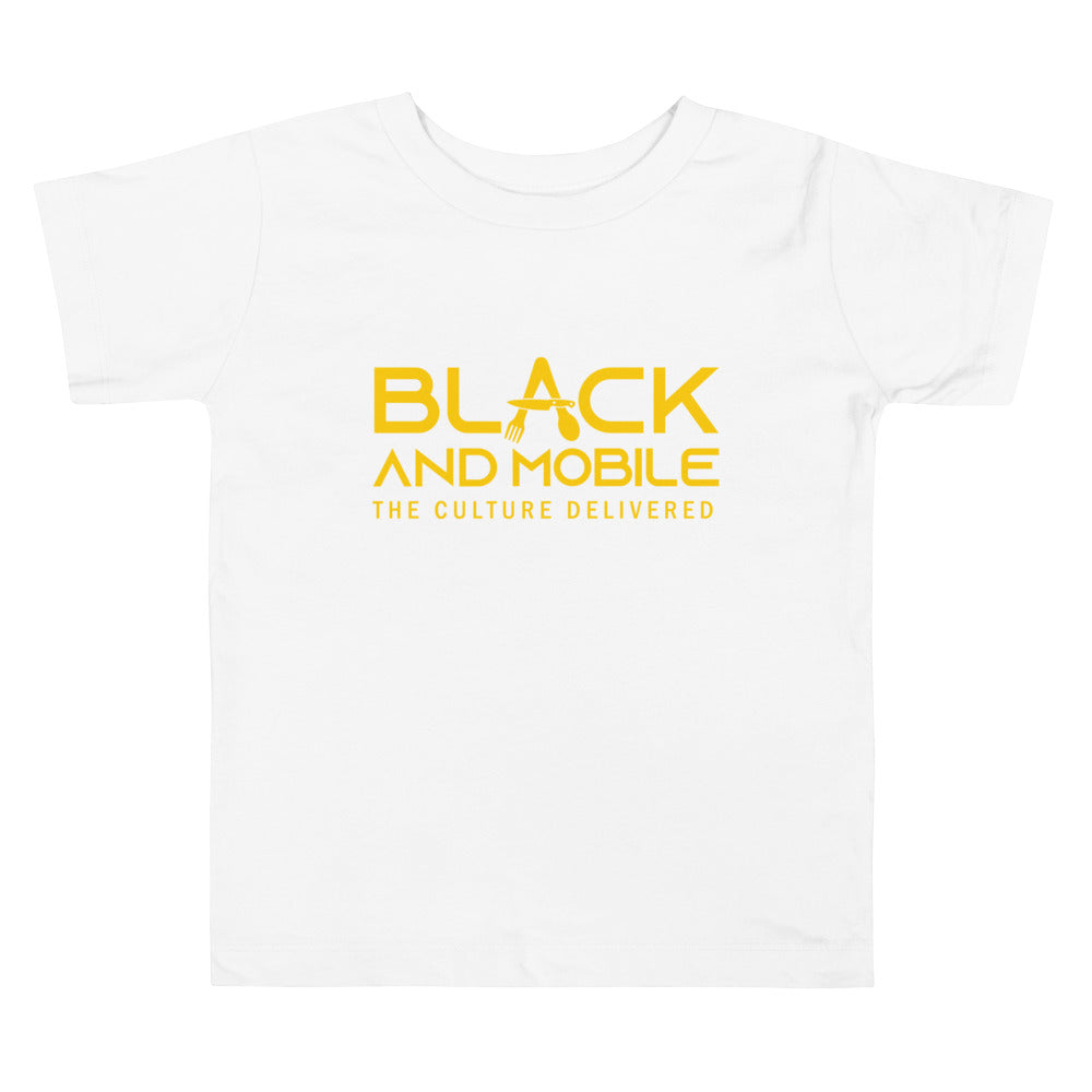 Black and Mobile: The Culture Delivered Toddler T-Shirt