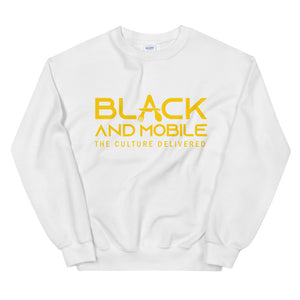 Black and Mobile Unisex Sweatshirt - Black and Mobile