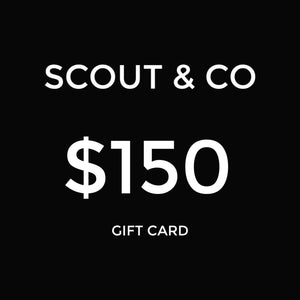 Scout & Co - Gift Card - $150