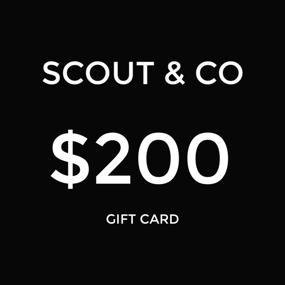 Scout & Co - Gift Card - $200