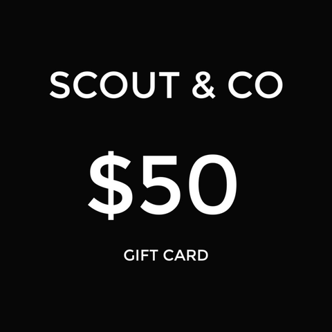 Scout & Co - Gift Card - $50