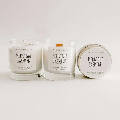 The 6th Scent Candle Midnight Jasmine Soy Candle