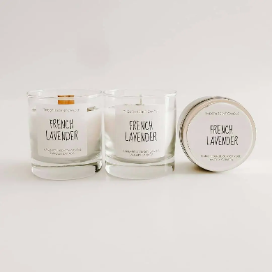 The 6th Scent Candle French Lavender Soy Candle