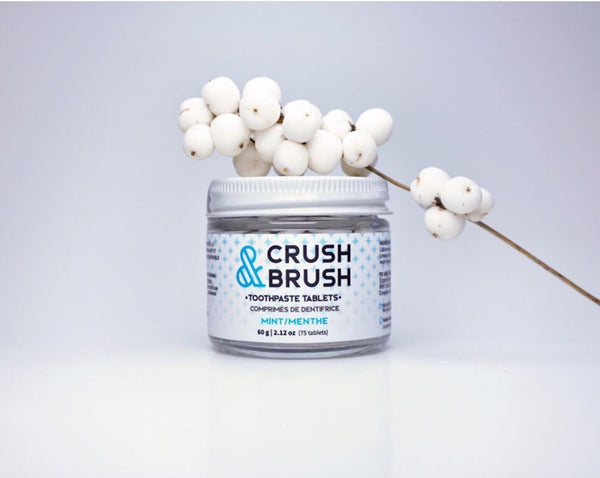 Nelson Naturals Crush & Brush Toothpaste Tablets
