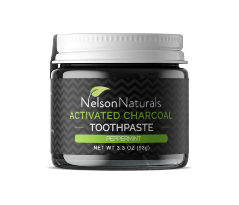 Nelson Naturals Activated Charcoal Whitening Toothpaste 93g
