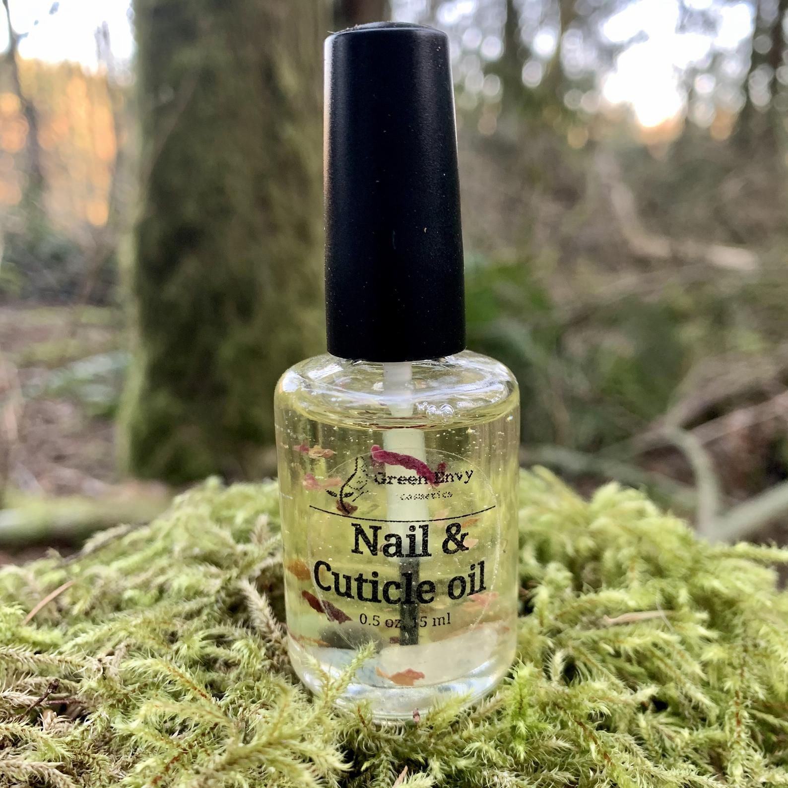 Green Envy Cosmetics - Cuticle and Nail Oil