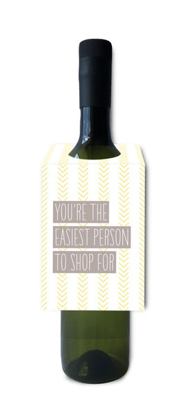 I'll Know It When I See It Wine Tags