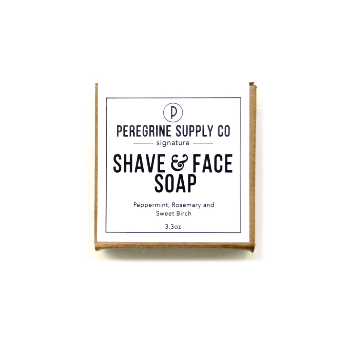Peregrine Supply Co Shave & Face Soap