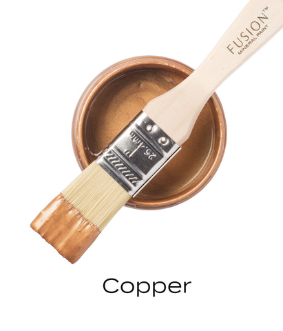 Fusion Mineral Paint Metallic Copper