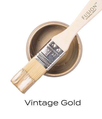 Fusion Mineral Paint Metallic Vintage Gold