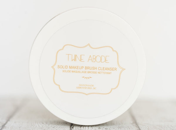 Twine Abode Solid Makeup Brush Cleanser