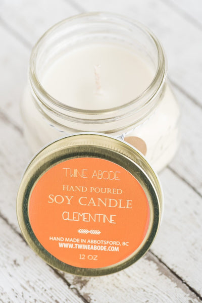 Twine Abode Soy Candle - 12 oz