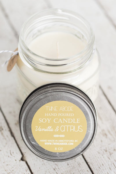 Twine Abode Soy Candle - 8 oz