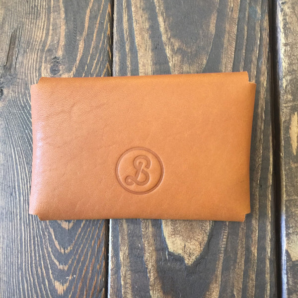 Blackstrap Cloth & Co Leather Card Wallet