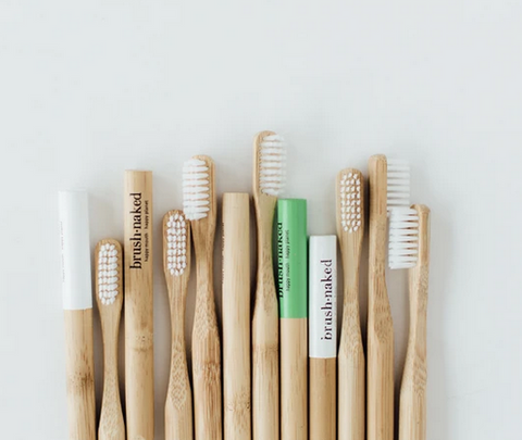 Brush Naked Bamboo Toothbrush - Adult Soft Bristle