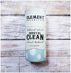 Element Botanicals Crystal Clean Natural Deodorant