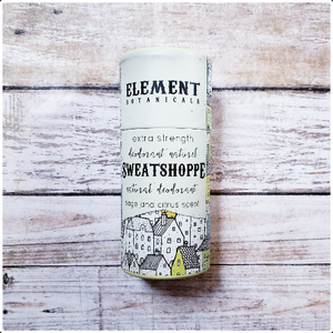 Element Botanicals Sweatshoppe Natural Deodorant
