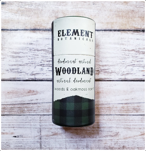 Element Botanicals Woodland Natural Deodorant