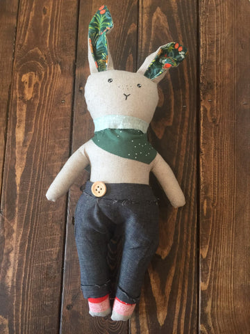 from the seeds Heirloom Boy Bunny Dolls