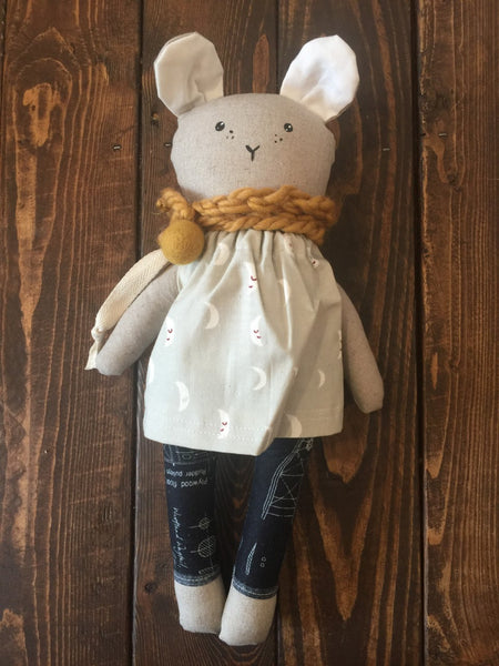 from the seeds Heirloom Girl Bunny Dolls