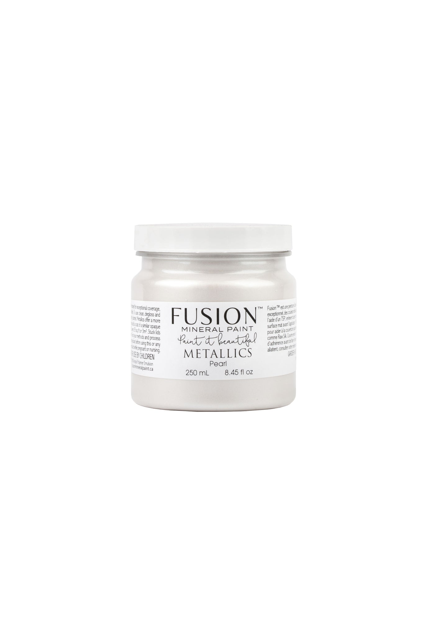 Fusion Mineral Paint Metallic Pearl