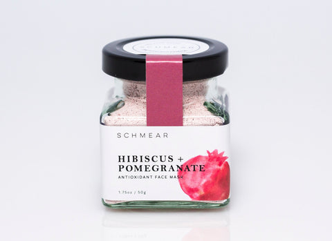 SCHMEARnaturals Hibiscus Pomegranate Antioxidant Face Mask