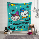 Halloween Tapestry Horror Bloody Ghost Print Wall