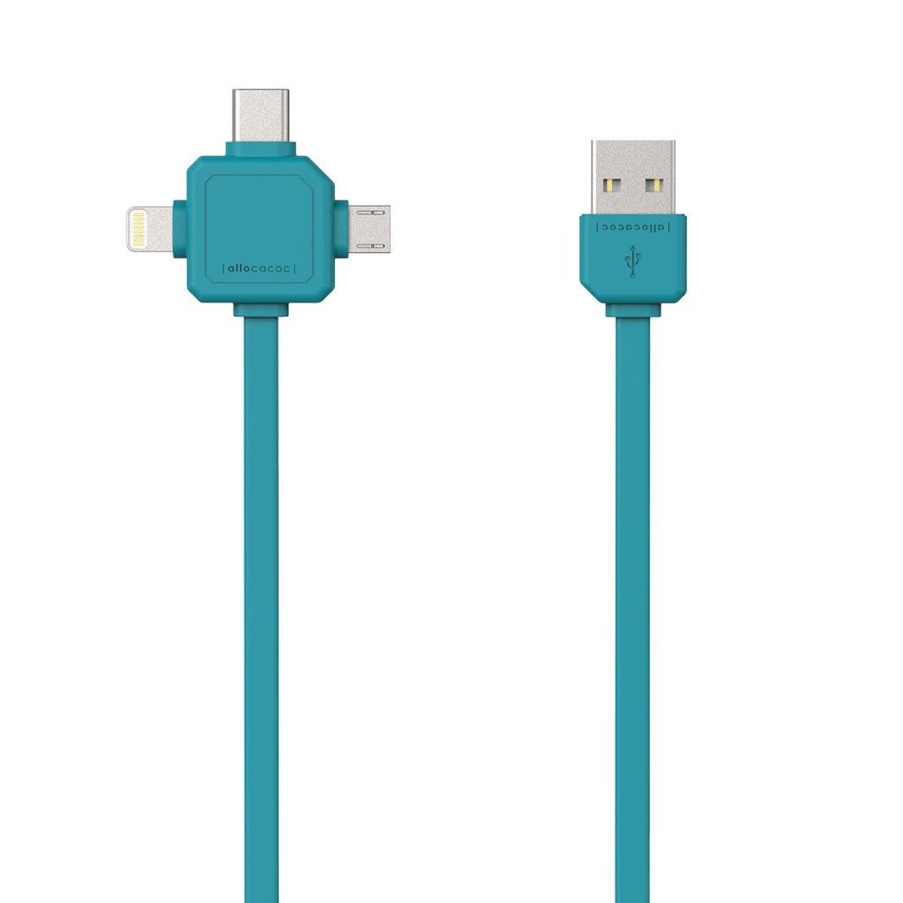 CABLE USB |3 IN 1| - Allocacoc España