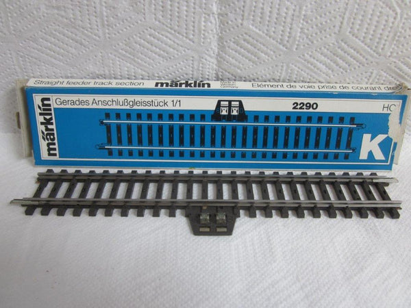 Marklin HO 2290 K Track Straight Feeder Track 180mm