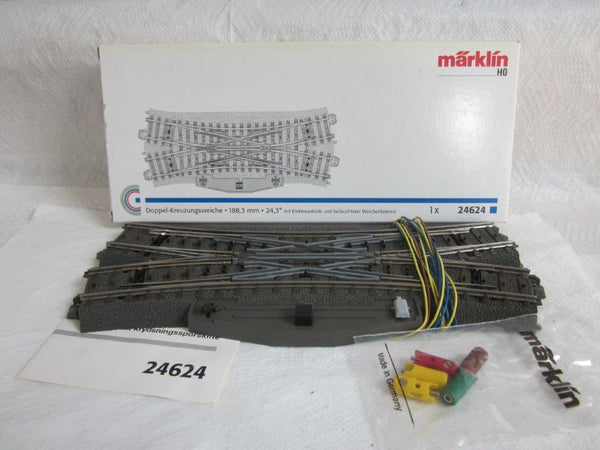 Marklin 24624 Double Slip Switch C Track for H0 gauge