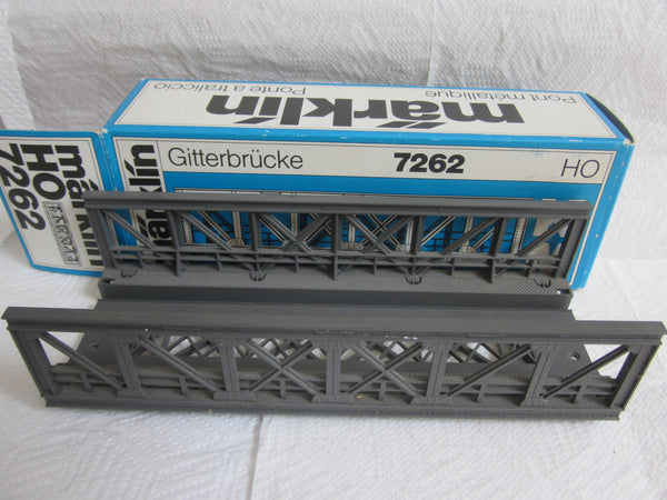 Marklin HO 7262 Truss Bridge NIB