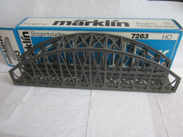 Marklin HO 7263 Arched Bridge for K & M Track NIB