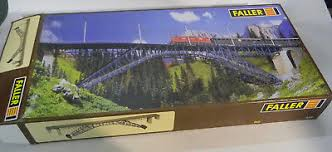 "Faller HO 535 ""Bietschtal Bridge"" Focal Point of any Layout."