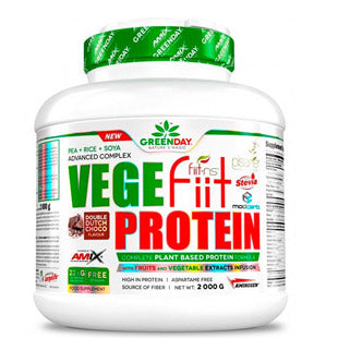 Amix GreenDay Vegefiit Protein - Proteina Vegetal 2Kg