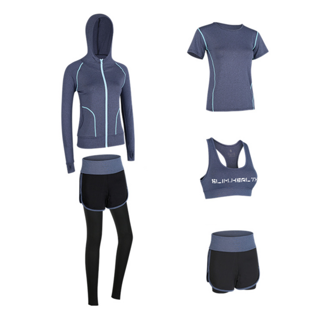 Breathable Quick Dry Sports Set (5 Pieces)
