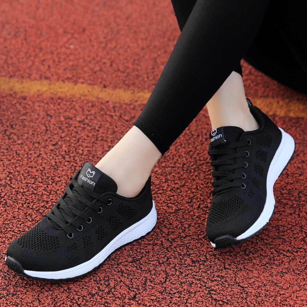 Breathable Mesh Non-Slip Running Shoes