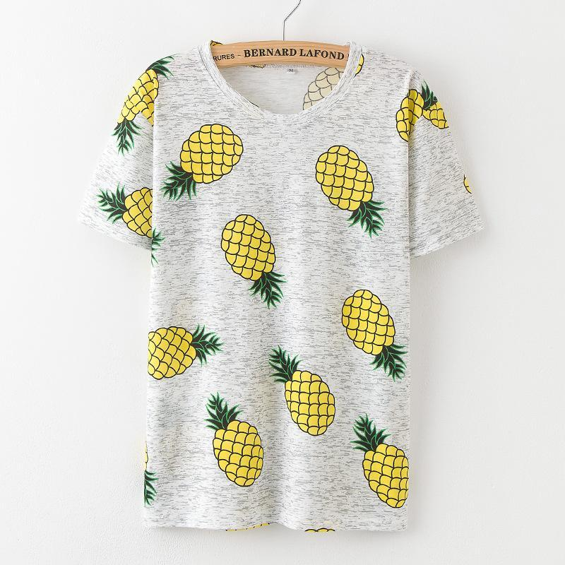 Pineapple Bat Sleeve T-Shirt