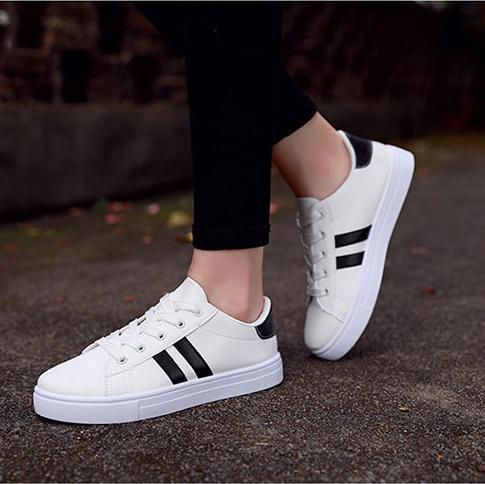 Striped Breathable Sneakers