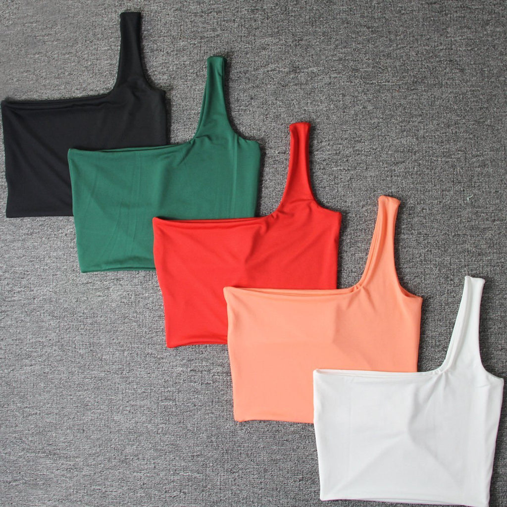 Single Shoulder Camisole