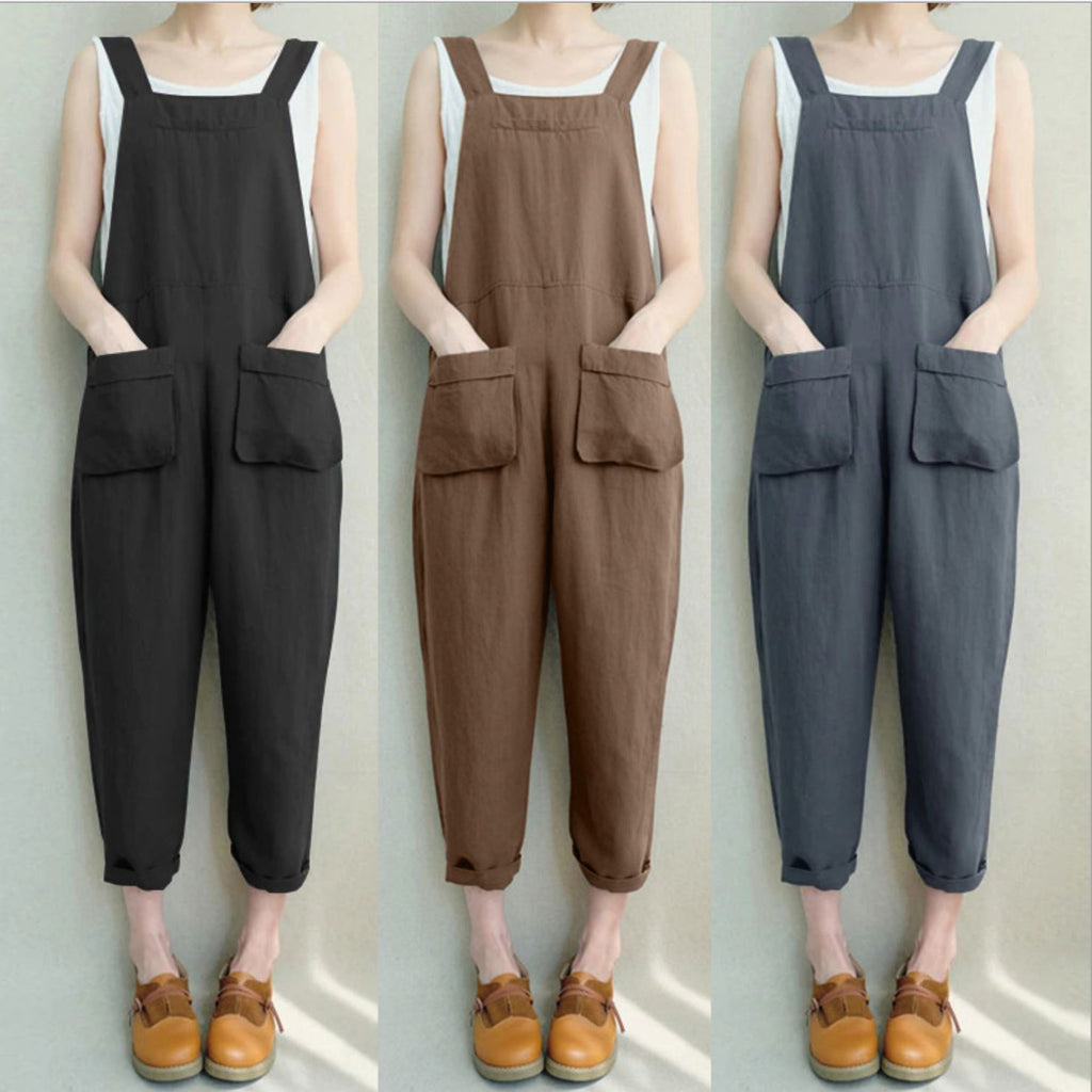 Loose Overall Pants