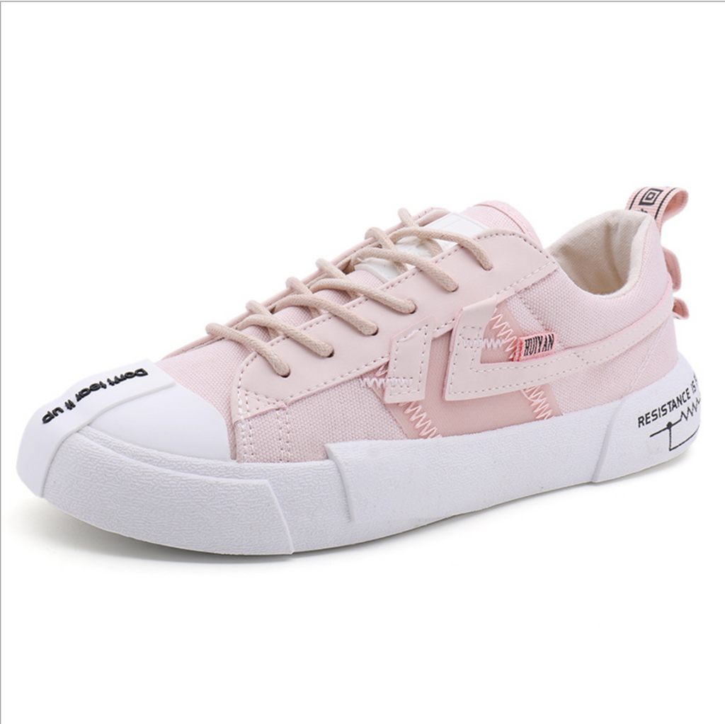 'RESISTANCE IS FUTILE' High/Low Top Sneakers