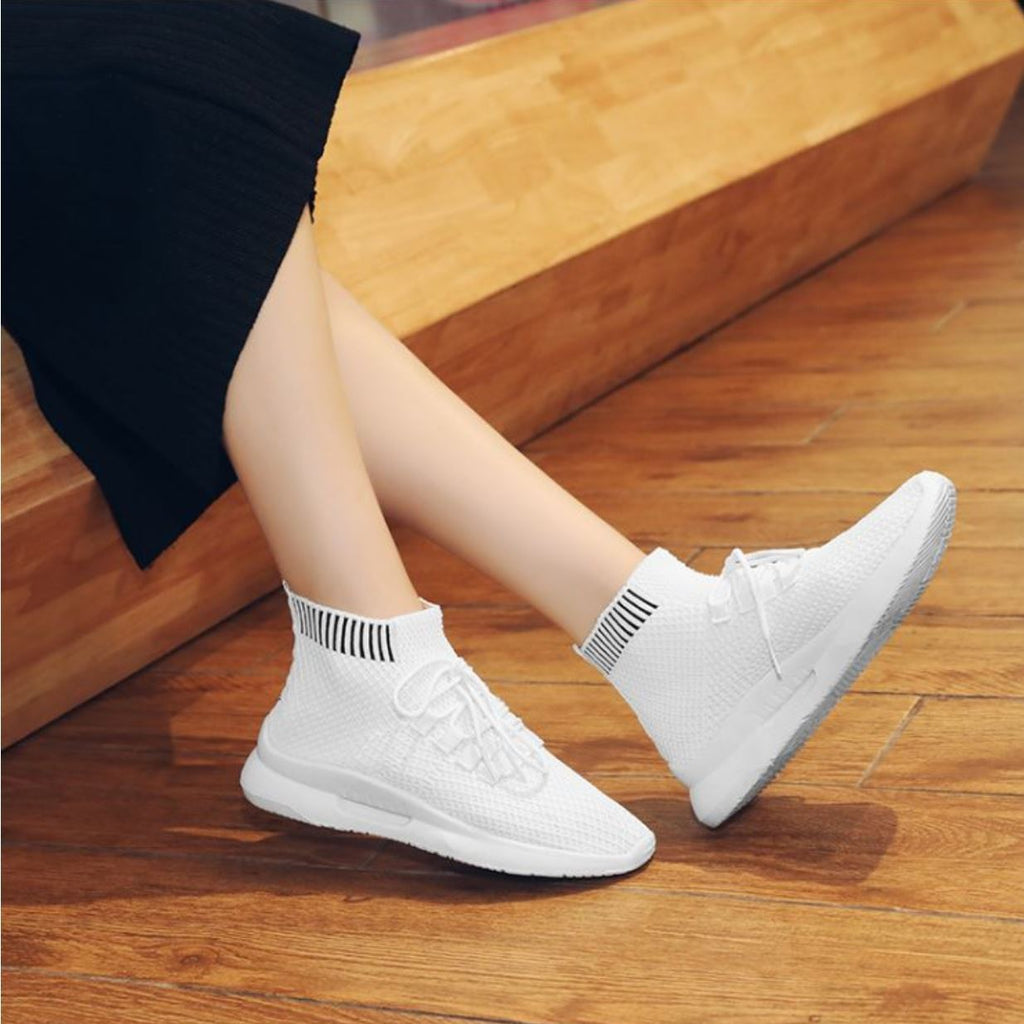 Breathable High Top Sock Sneakers