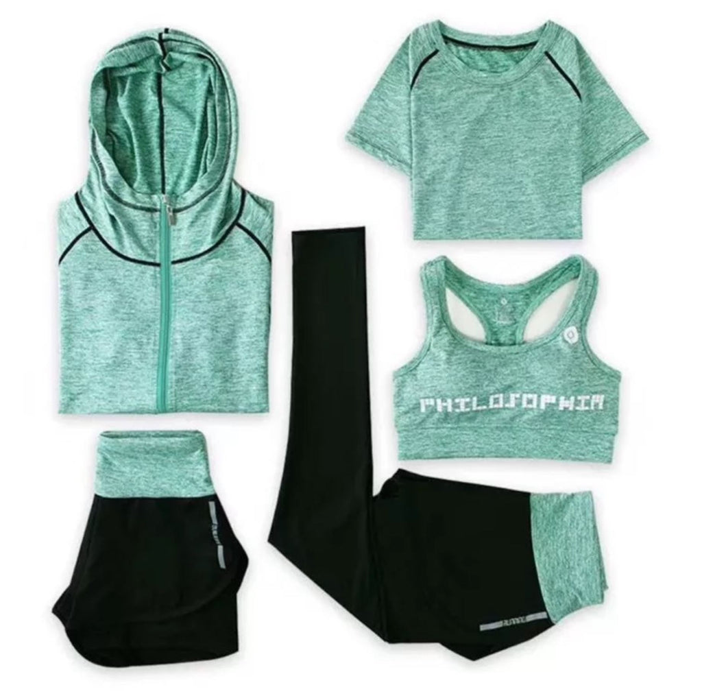Quick Dry Sports Set (5 Pieces)