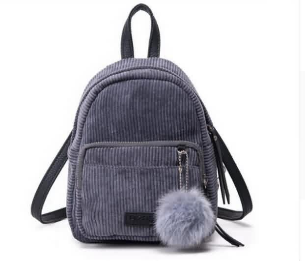 Backpack With Long Straps & Ball