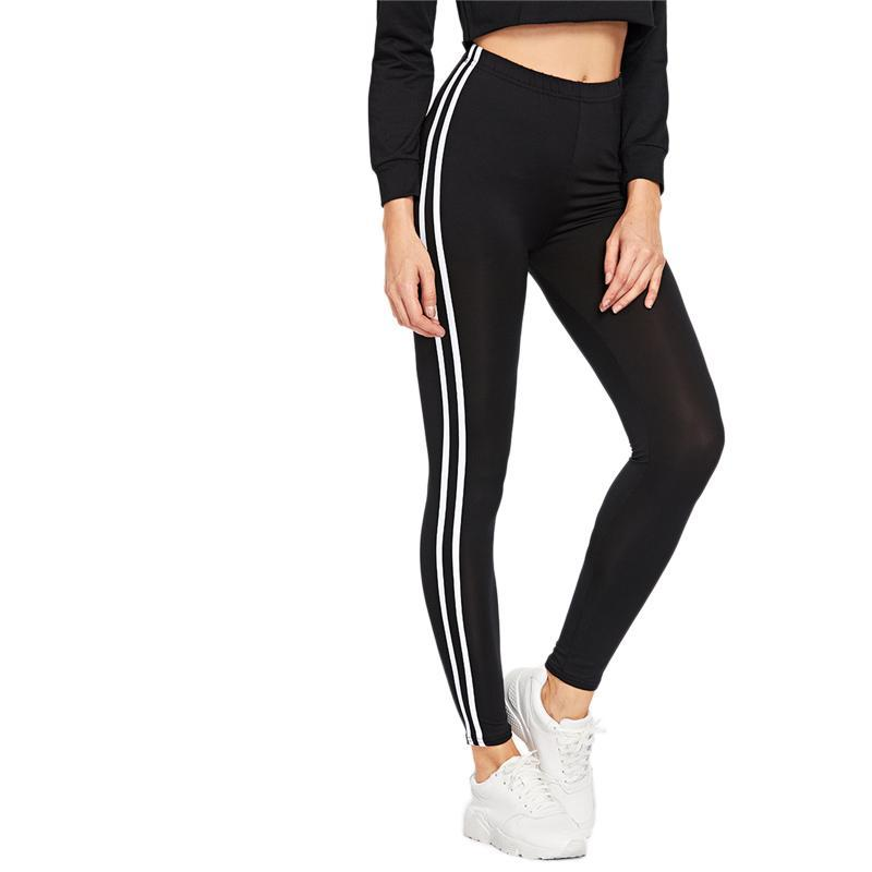 Double Side Stripe Leggings