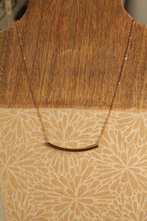 Above Bar Necklace