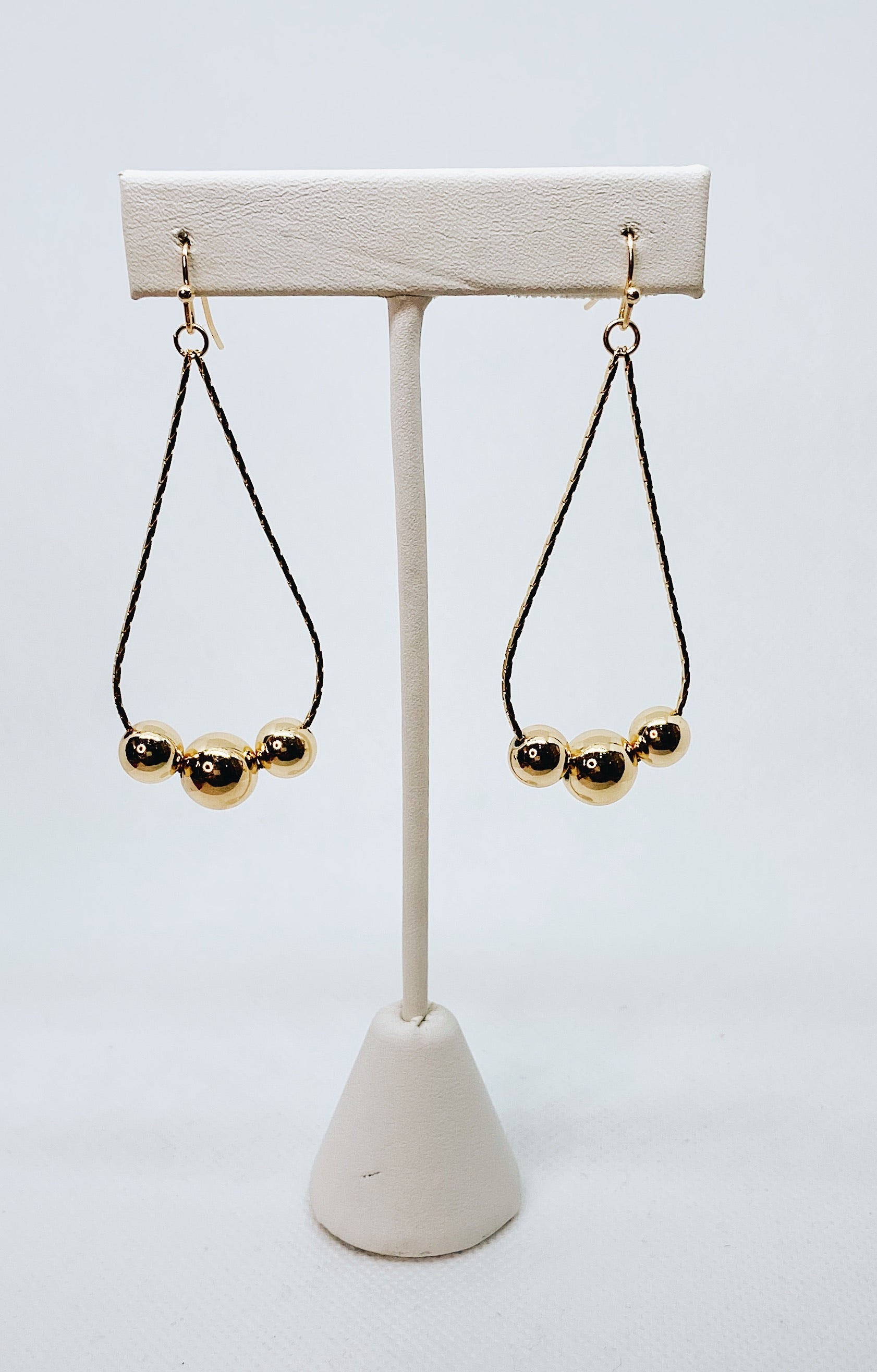 Gold Bauble Earrings
