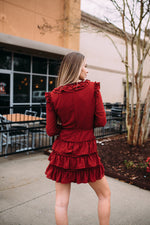 Heart Crush Ruffle Dress