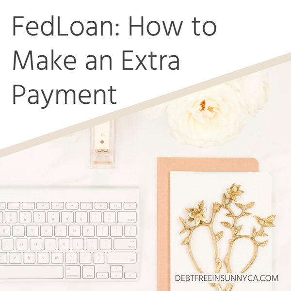 FedLoan: How to Make an Extra Payment