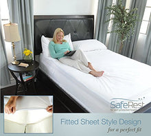 Load image into Gallery viewer, SafeRest Queen Size Waterproof Mattress Protector